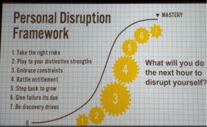 Personal Disruption Framework