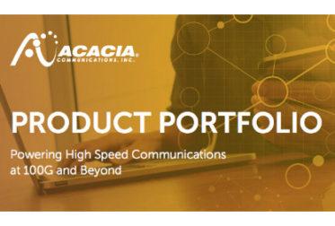 Brochure: Acacia Product Portfolio