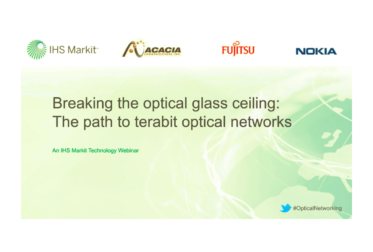 Video: IHS Webinar: Breaking the optical glass ceiling: The path to terabit optical networks
