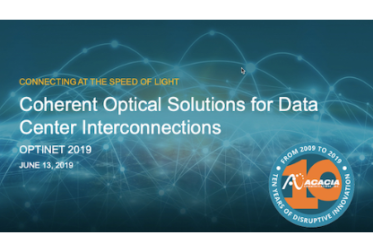 Coherent Optical Solutions for Data Center Interconnections