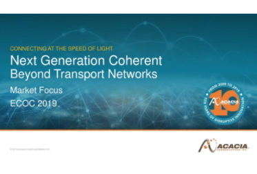 ECOC 2019: Next Generation Coherent Beyond Transport Networks