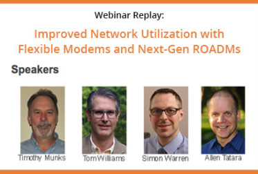 Webinar Replay: Improved Network Utilization with Flexible Modems and Next-Gen ROADMs