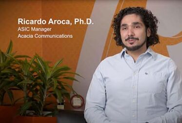 Acacia Experts Talk Coherent: Ricardo Aroca on Silicon Photonics