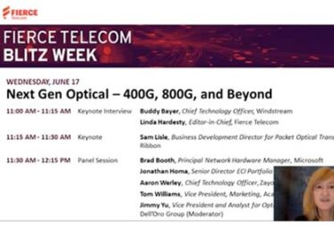 Fierce Telecom Blitz Week: Next Gen Optical – 400G, 800G, and Beyond