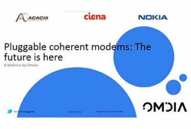 Omdia Webinar – Pluggable Coherent Modems: The Future is Here